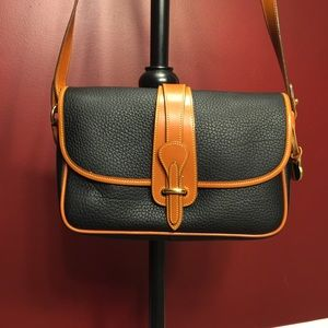 DOONEY & BOURKE  Large Tan  Pebble Leather Handbag